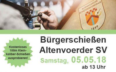 Bürgerschießen der Altenvoerder Schützen