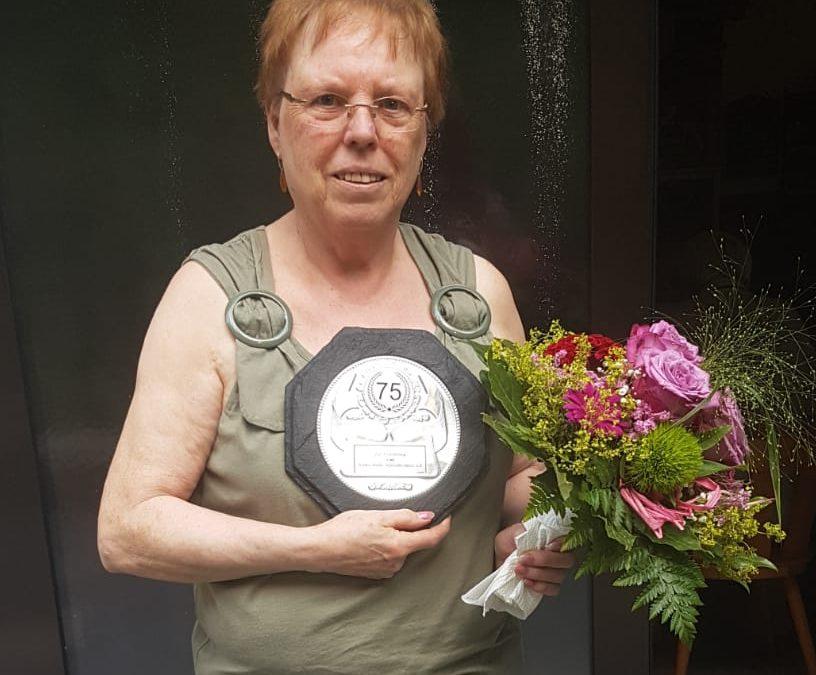Monika Pleger wird 75 Jahre alt