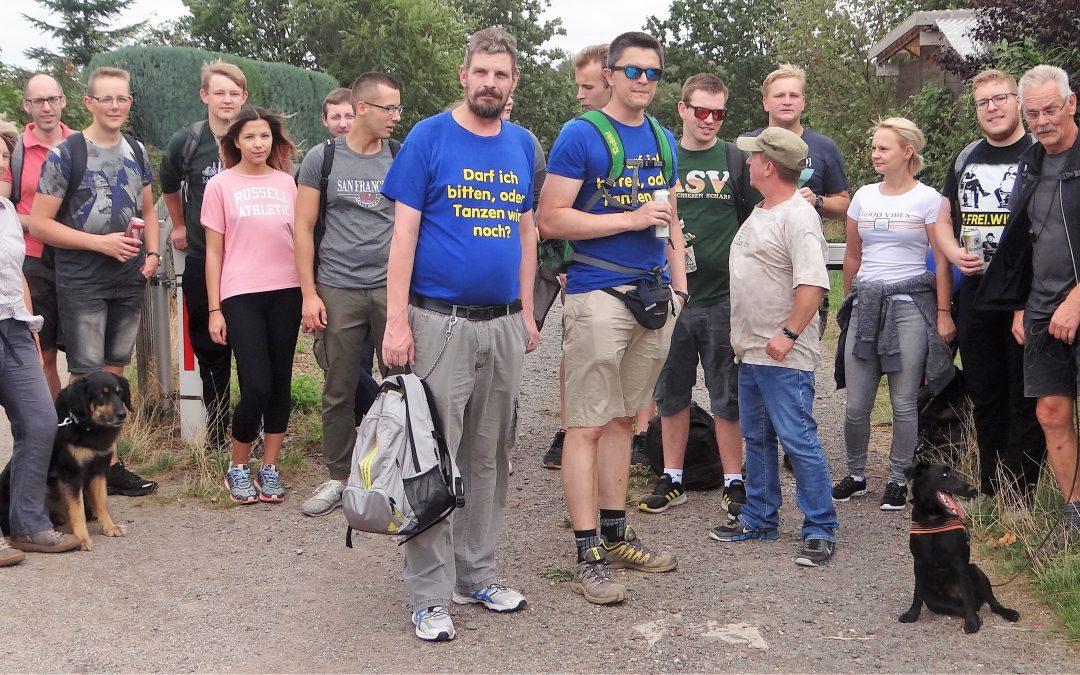 Wanderung rund um Ennepetal und Spießbraten bei den Altenvoerder Schützen