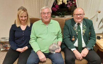 Ehrenmitglied Karl-Heinz Junge wird 75