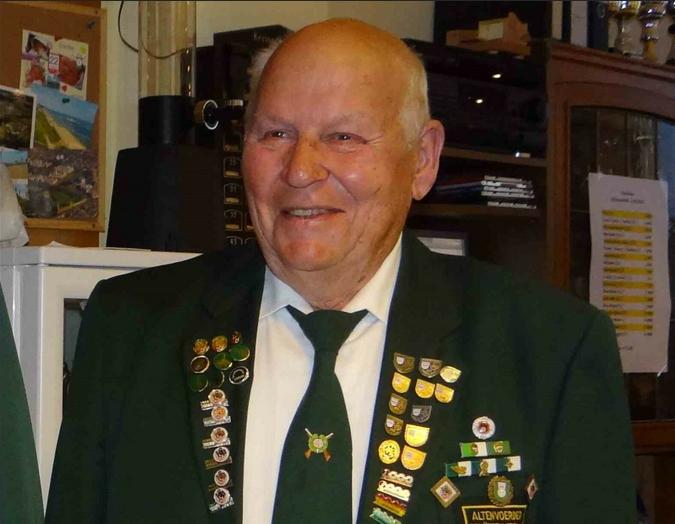 Der Altenvoerder Schützenverein trauert um sein Ehrenmitglied
